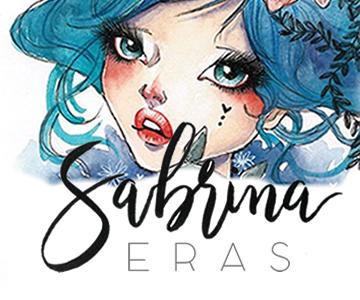 branding sabrina eras